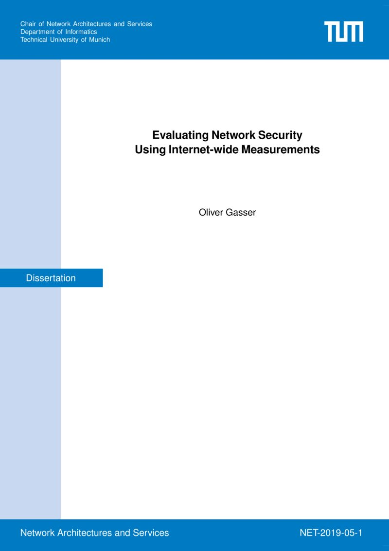 Download paper: Evaluating Network Security Using Internet-wide Measurements
